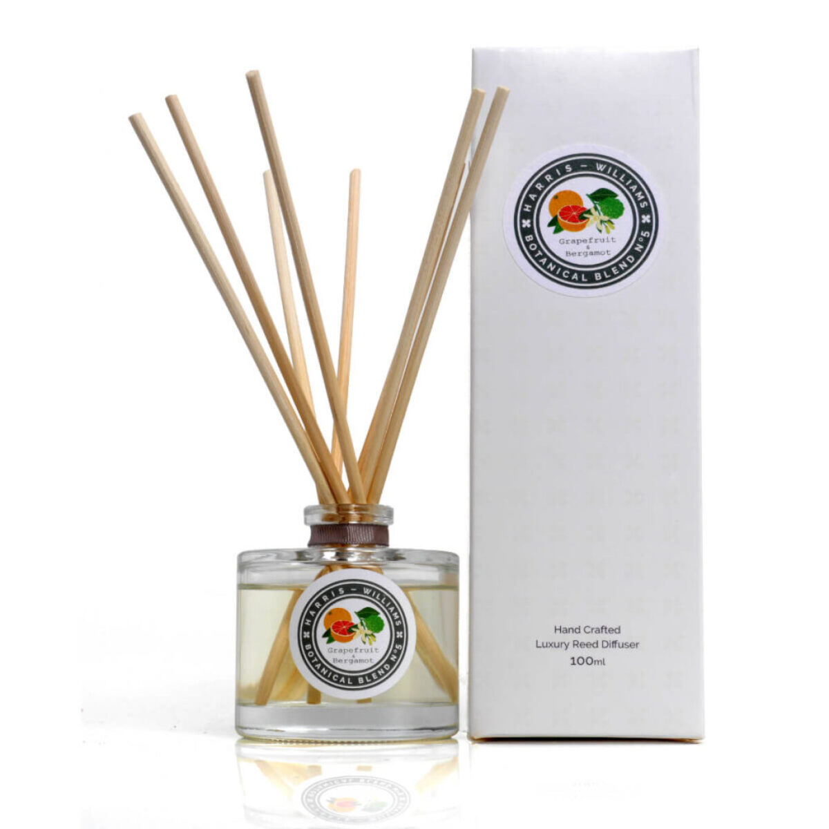 Botanical Blend No 5 Grapefruit & Bergamot Reed Diffuser