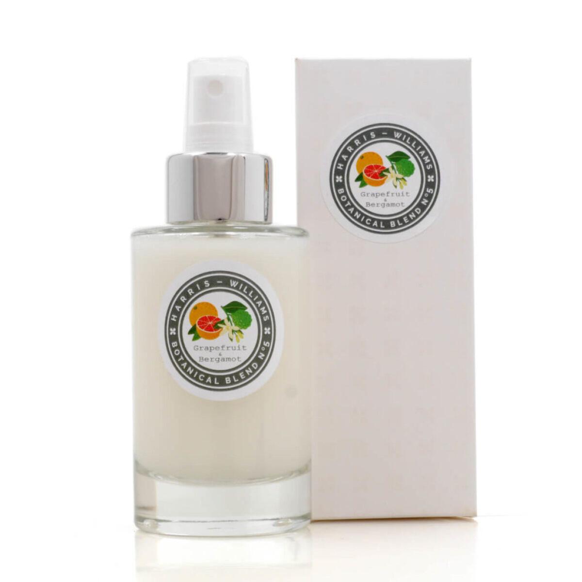 Botanical Blend No 5 Grapefruit & Bergamot Diffuser Room & Fabric Spray