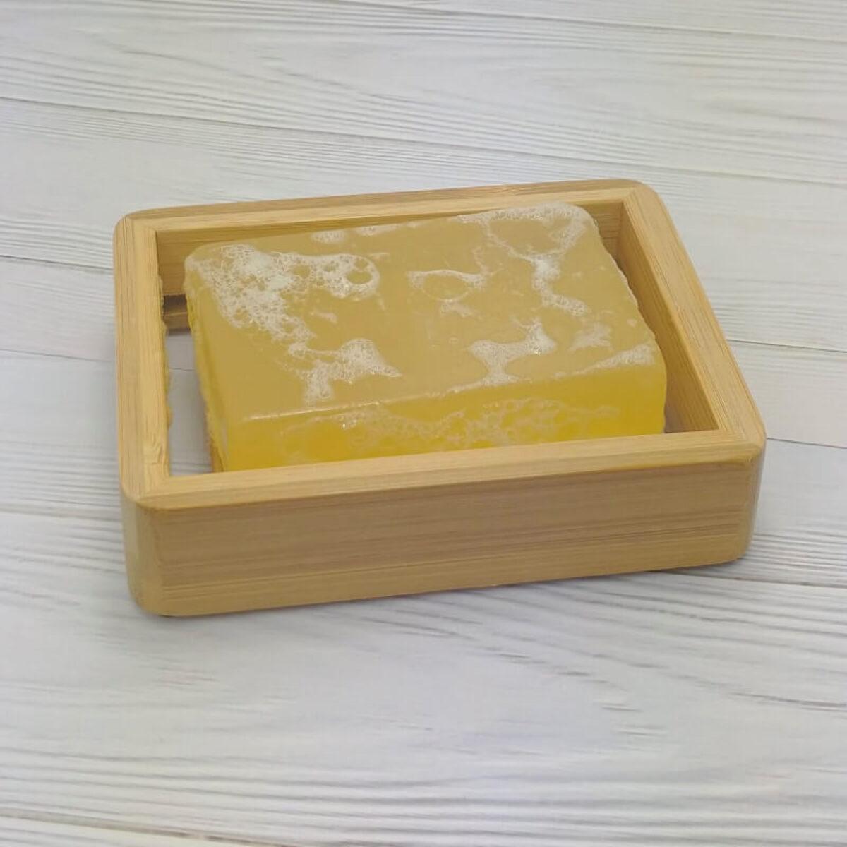 Natural Bamboo Soap Dish