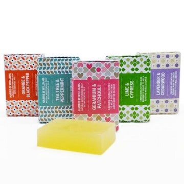 Select any 3 Natural Soaps or Bamboo Soap Dish in the offer and receive an automatic discount.